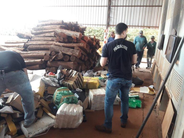 Polícia Civil incinera mais de 6,4 toneladas de drogas em município de MS