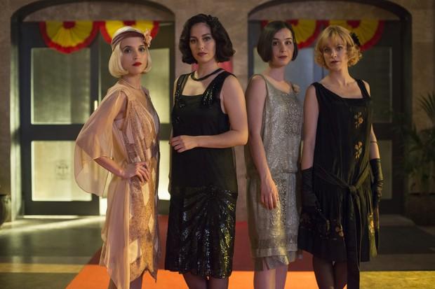 CABLE GIRLS (Foto: Manuel Fernandez-Valdes/Netflix)