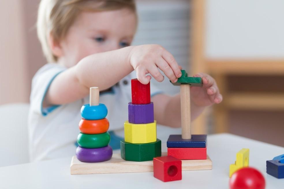 Período que vai da gestação até o fim dos dois anos de vida é fundamental para o desenvolvimento da inteligência — Foto: Shutterstock