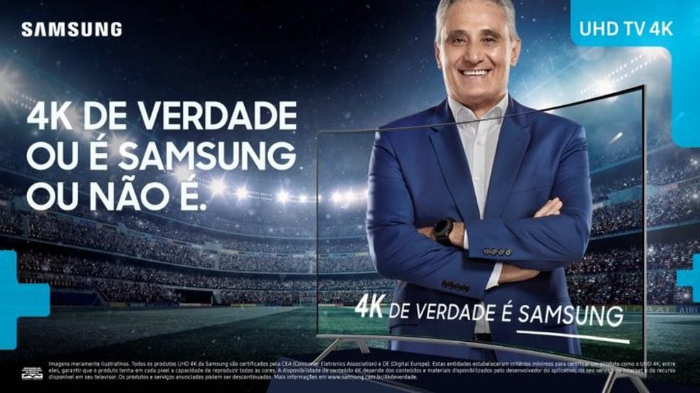 Promoção da Samsung barateia 4Ks com foco na Copa do Mundo da Rússia (Foto: Divulgação/Samsung)