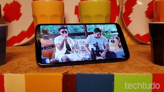 Como cadastrar impressão digital no Moto Z3 Play