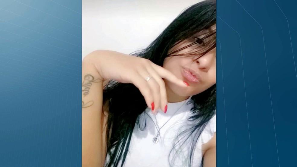 Gizely Medeiros tinha 24 anos e deixa um filho de quatro anos em João Pessoa — Foto: Reprodução/TV Cabo Branco