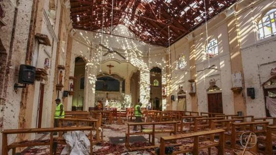 Sri Lanka bloqueia redes sociais após ataques a igrejas católicas e hotéis
