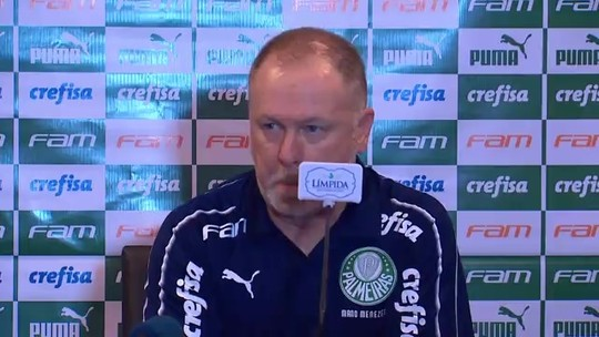 """Mano comemora quarta vitória pelo Palmeiras, mas diz que erros de passe foram """"acima da média"""""""