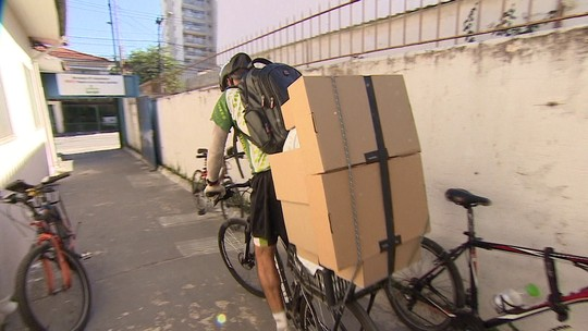 Empresa de entregas com bicicletas dribla greve e aumenta o faturamento