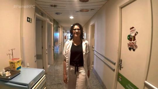 De voluntária a chefe: 'Painel RPC' contou a história de superação de uma médica paranaense
