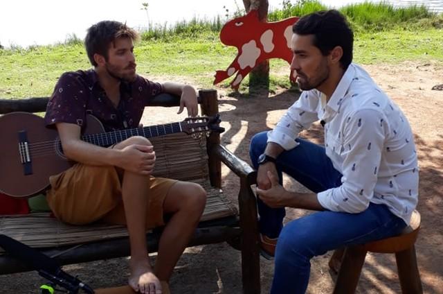 Tiago Nacarato e Ricardo Pereira (Foto: Divulgação)