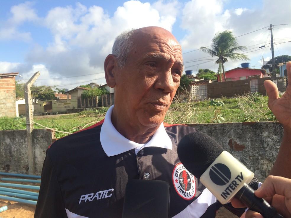 Ranilson Cristino foi o responsável pela contratação do jogador (Foto: Leonardo Erys/GloboEsporte.com)