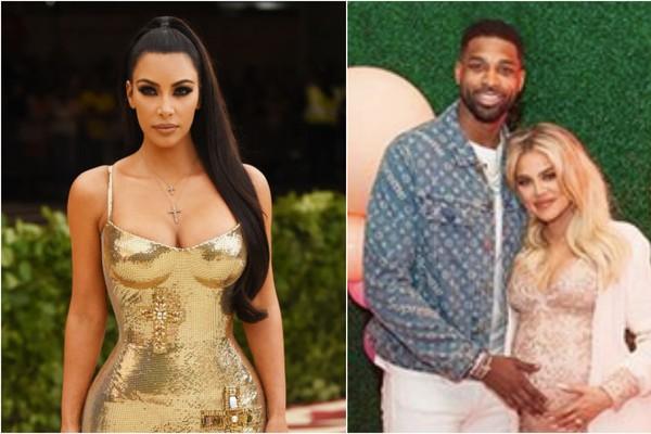 Kim Kardashian, Khloé Kardashian e Tristan Thompson (Foto: Getty Images / Instagram)