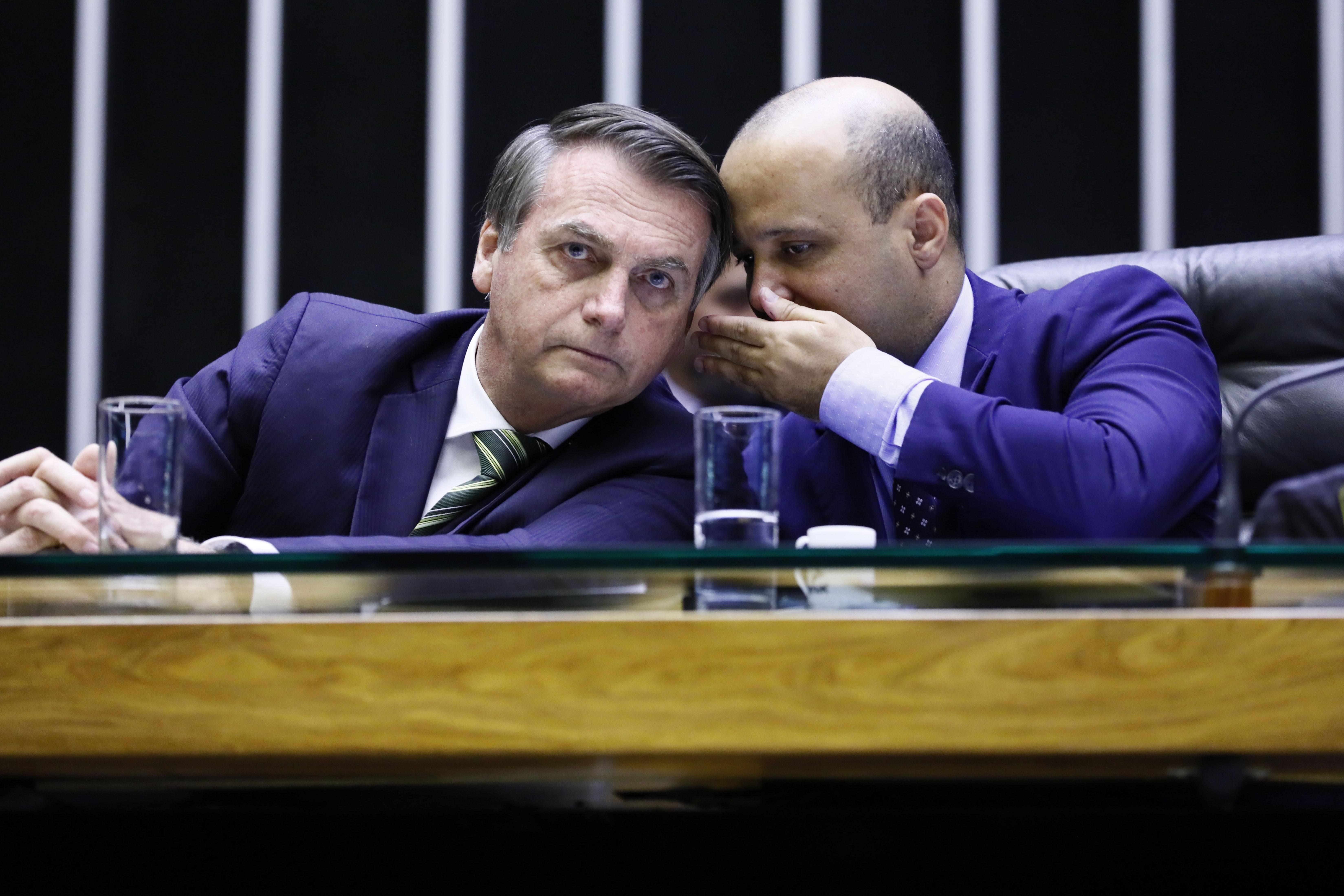 Líder do governo na Câmara, deputado Major Vitor Hugo é cotado para o MEC
