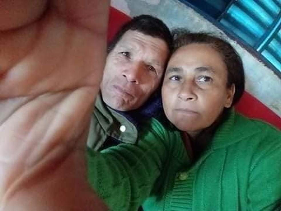Maria das Graças e Malrilho viveram juntos por 10 anos. Ele matou a ex-esposa por não aceitar a separação — Foto: Elisângela da Hora/Arquivo pessoal