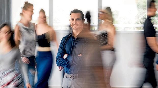 Eric Santos, 38 anos, fundador da  Resultados Digitais, especializada em estratégias de marketing digital para pequenos e médios negócios (Foto: Caio Cezar)