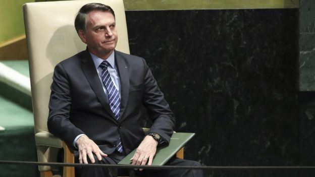 Bolsonaro and his aides downplayed letter announcing US support to Argentina and Romania (Photo: DREW ANGERER / GETTY IMAGES via BBC News Brazil)