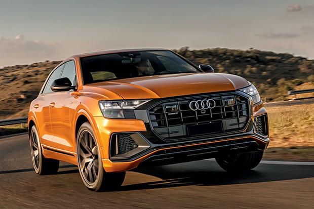 Audi Q8 performance black - A cor laranja Dragão  acrescenta R$ 2.400 na conta; são 11 tons disponíveis (Foto: Divulgação)