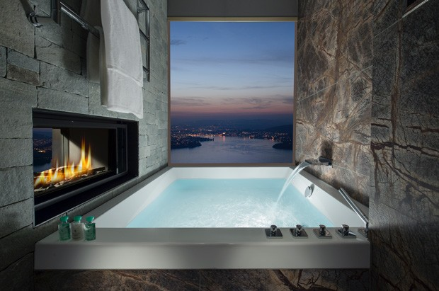 Hotel Burgenstock, na Suíça (Foto: Divulgação)