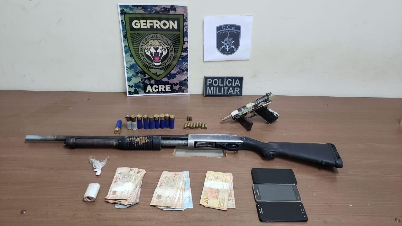 Dois são mortos em confronto com polícia em ação contra 'piratas de rio' no interior do Acre