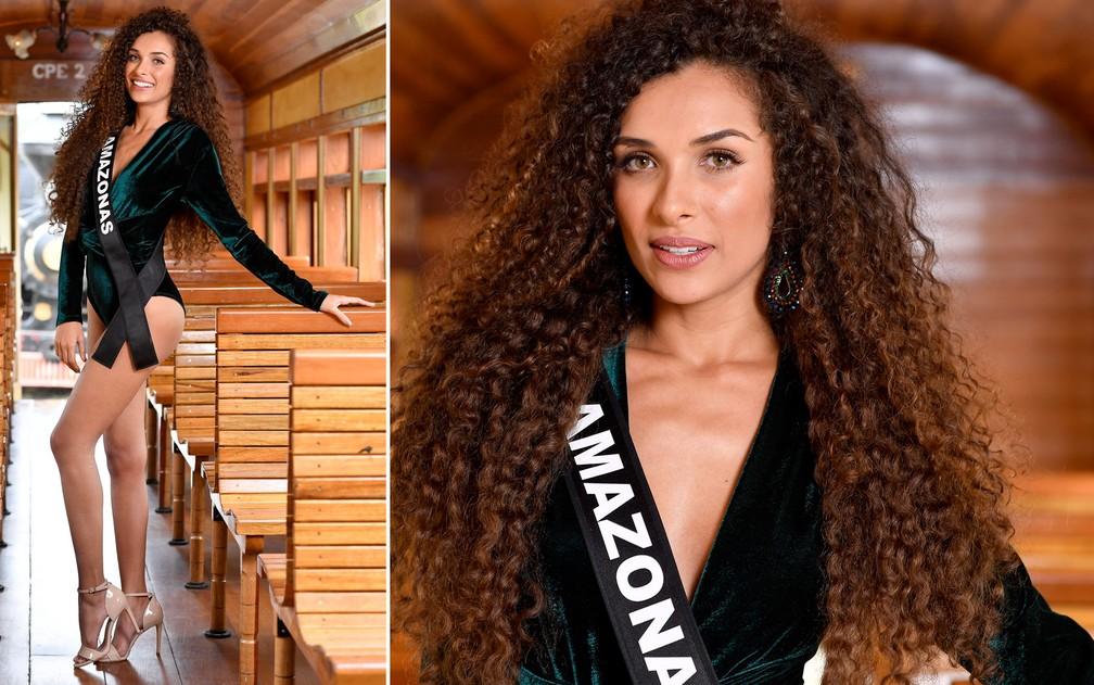 Lorena Alencar, 26 anos, advogada, é a Miss Amazonas — Foto: Rodrigo Trevisan/Divulgação/Miss Brasil