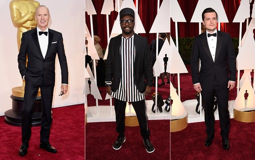 Michael Keaton; Will.I.AM; Josh Hutcherson