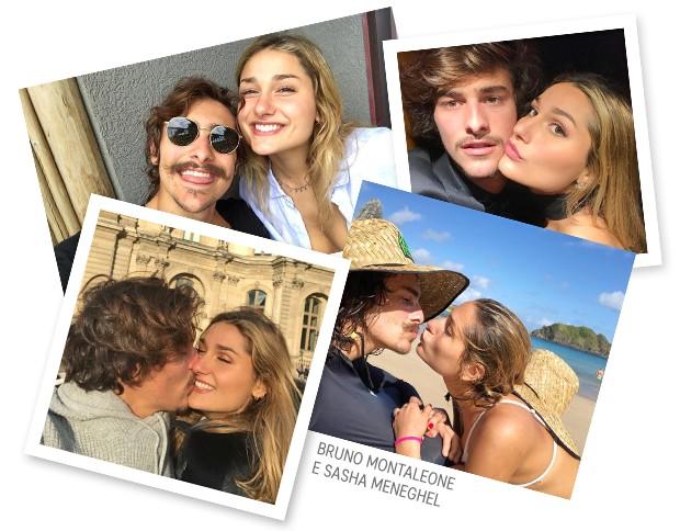 Bruno Montaleone e Sasha Meneghel  (Foto: Reprodução/ Instagram)