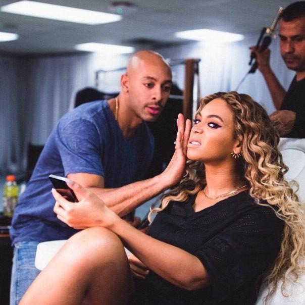 Beyoncé e Sir John (Foto: Instagram/Reprodução)