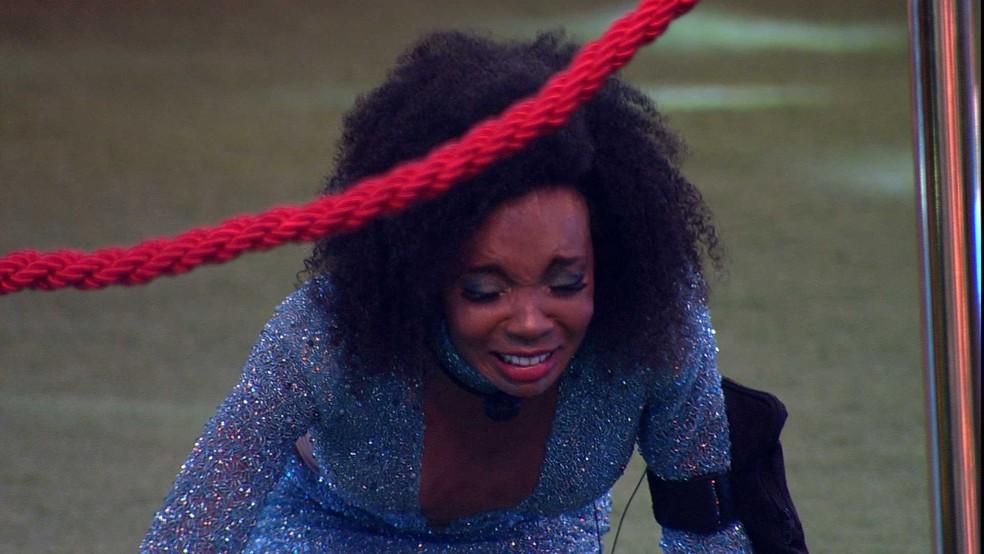 Thelma é a campeã do BBB20 — Foto: Globo