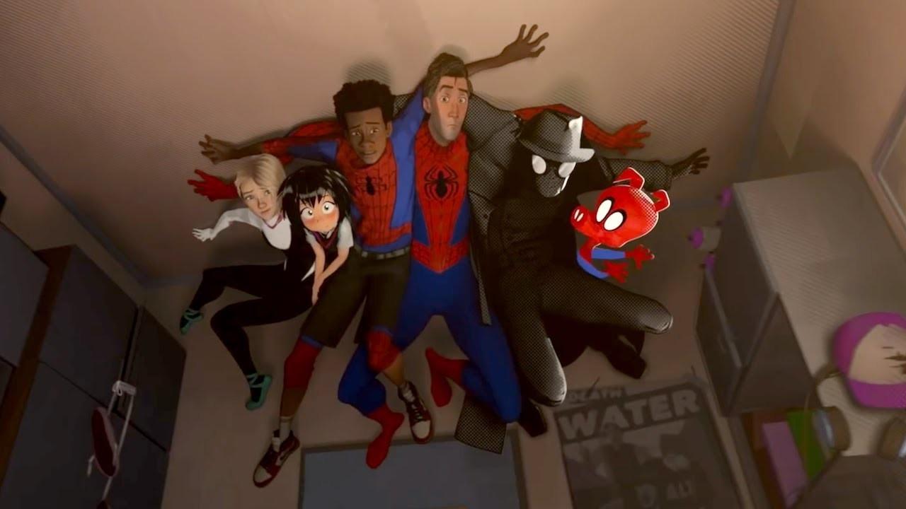 Oops: Homens-Aranha tenham se esconder no dormitório de Miles. Você acha que eles conseguiram? (Foto: Divulgação)