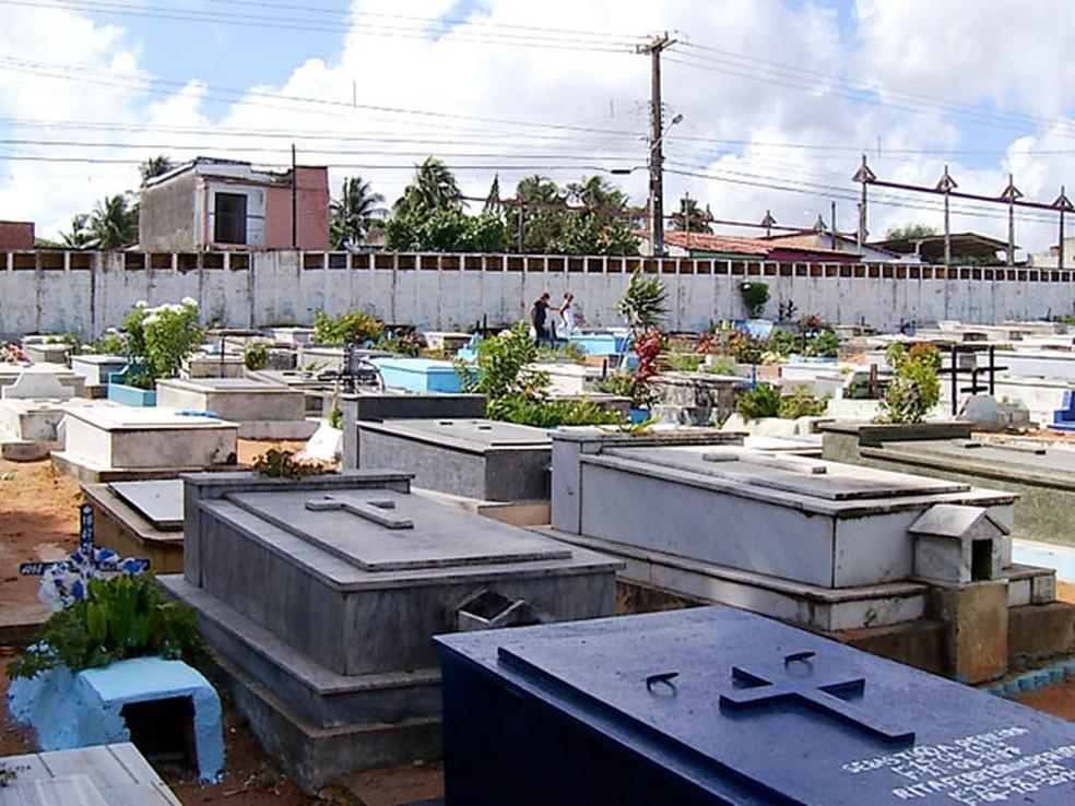 Cemitérios devem ser verticalizados, segundo proposta da prefeitura — Foto: Reprodução/Inter TV Cabugi
