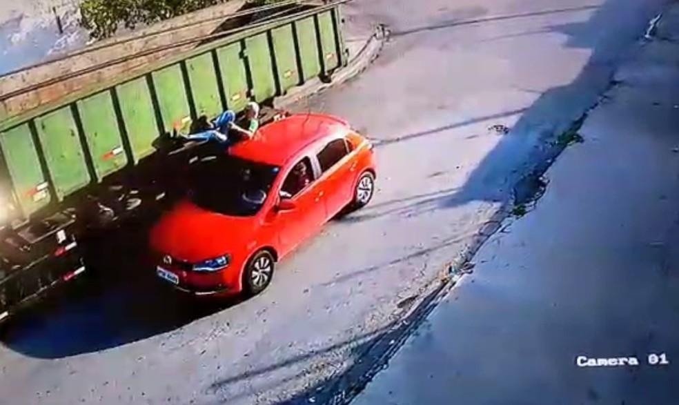 Vítima foi atropelada na frente de casa em Sorocaba (Foto: Arquivo pessoal)
