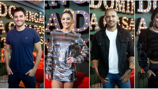 Elenco do Grupo B comenta estreia no 'Show dos Famosos'