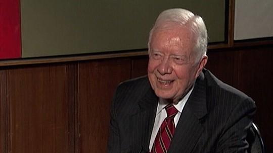 Jimmy Carter, ex-presidente dos EUA, volta a ser hospitalizado
