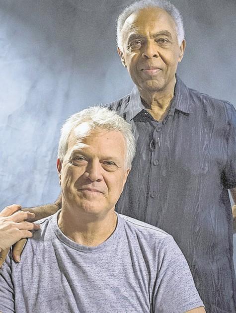 Gilberto Gil e Pedro Bial (Foto: Mariana Vianna)