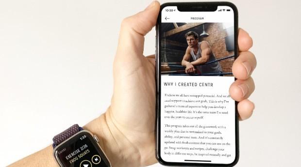 O aplicativo oferece um calendário com os exercícios e refeições diárias (Foto: Divulgação)