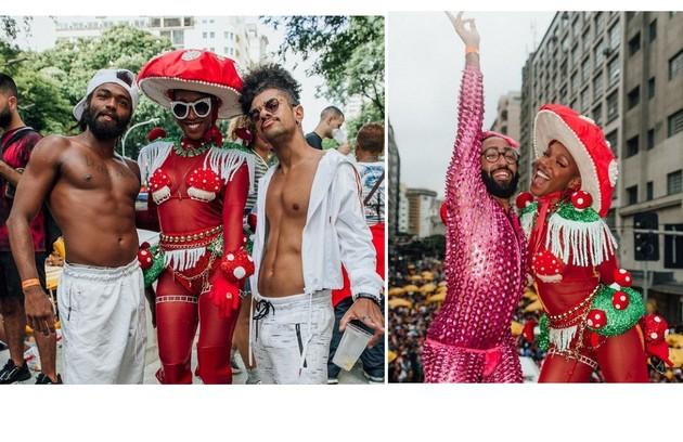 Karol Conká se apresentou no Batekoo,em São Paulo: um bloco que virou movimento cultural afro (Foto: Reprodução)