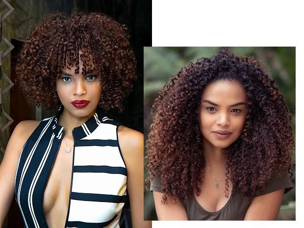 O antes e depois de Lucy (Foto: Iudi Richele e divulgação)