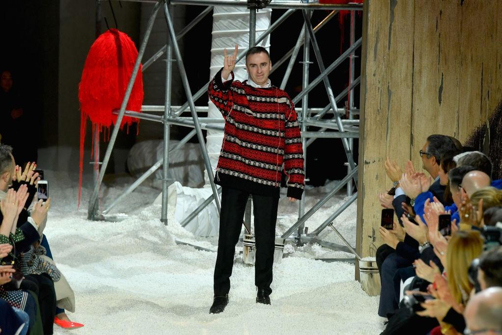 Raf Simons deixa comando da Calvin Klein (Foto: Getty Images)