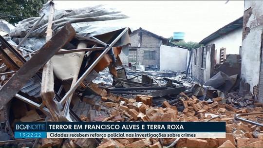Incêndios em Francisco Alves são ação de contrabandistas, diz polícia