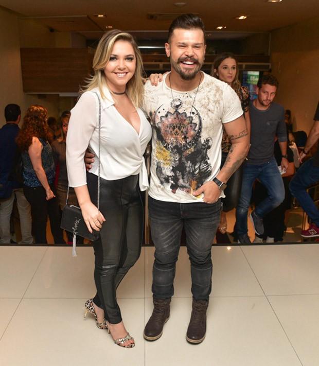 Marcos e Lu Marchioto (Foto: Leo Franco / AgNews)