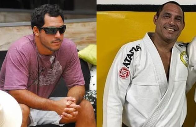 """Amigo de Alberto Cowboy e rival de Alemão, no """"BBB"""" 7, Felipe Cobra foi eliminado do jogo com 93% de rejeição. Hoje, ele é lutador de jiu-jítsu e personal trainer (Foto: Reprodução)"""
