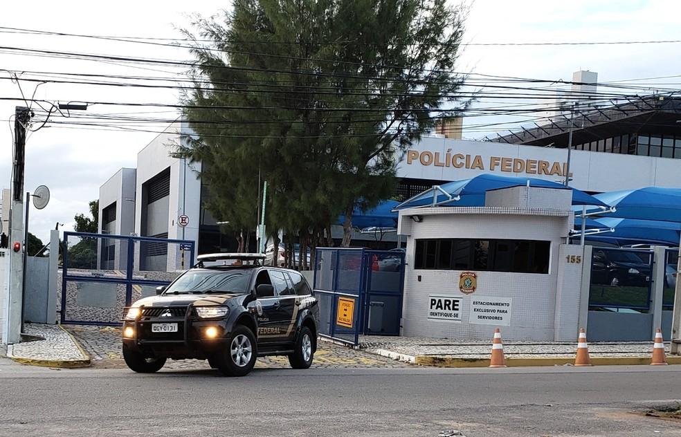 Homem foi preso por policiais federais nesta quarta-feira — Foto: Divulgação