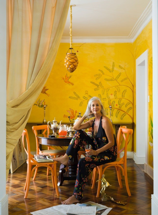 Casa da artista plástica Patrícia Magano (Foto: Christian Maldonado / Editora Globo)