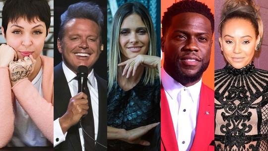 Foto: (Reprodução/Instagram, Charles Sykes/Invision/AP, Globo/Raquel Cunha e Frederich J. Brown/AFP )