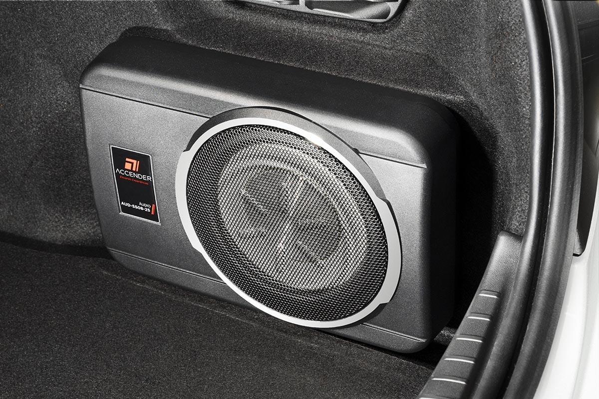 Sistema de som Peugeot 208 Inconcert (Foto: Divulgação)