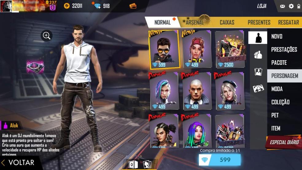 Free Fire Dicas Para Jogar Com Alok Personagem De Cura Do Game Jogos De Acao Techtudo