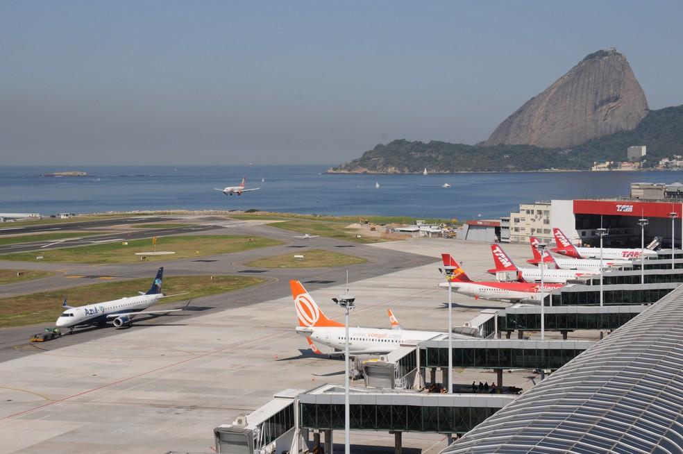 Aeroporto Santos Dumont — Foto: Divulgação / Infraero
