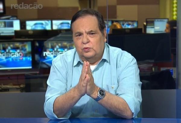 Roberto Avallone durante participação no Redação SporTV (Foto: Reprodução)
