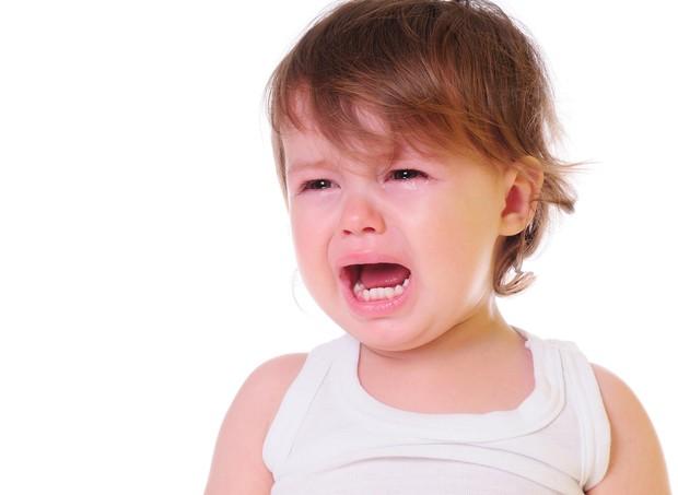 Criança chorando e gritando (Foto: Shutterstock)