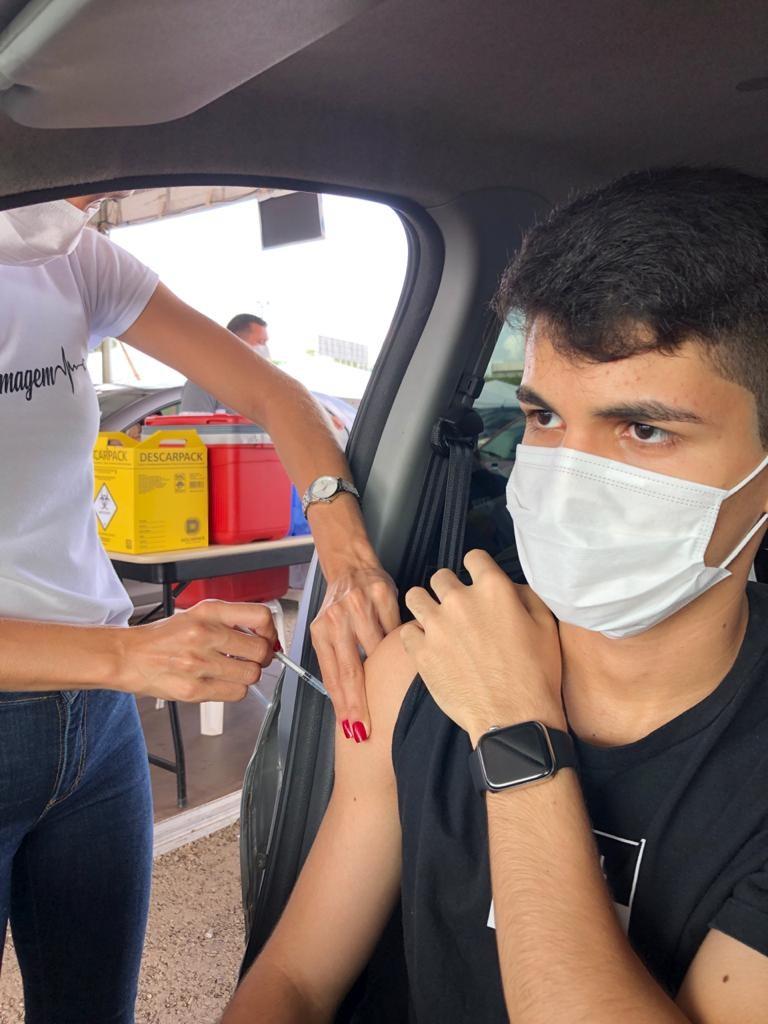 Com mais de 89% da população vacinada com a 1ª dose, São Luís inicia imunização contra a Covid em adolescentes de 14 anos