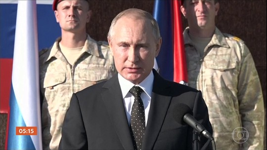 Rússia anuncia retirada das Forças Armadas da Síria