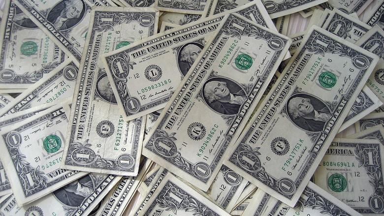moeda-americana-dolar-dinheiro-cedula-cotações (Foto: 401kcalculator/CCommons)