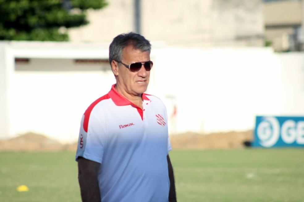 Alfredo Sampaio será o comandante do Bangu (Foto: JOÃO CARLOS GOMES/BANGU)